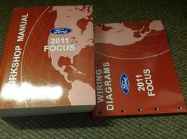 2011 ford focus workshop service repair manual workshop set with ewd factory oem - $54.44