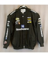 Chase GM Goodwrench Nascar Black Racing Jacket Size 2XL #29 Kevin Harvick - $58.00
