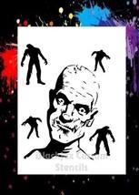 Zombie Alert! Airbrush Stencil,Template - $10.99