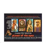 vintage PLANET OF THE APES movie poster CHARLTON HESTON famous actor 24... - $18.00