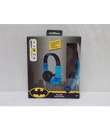 NEW SEALED DC Comics Batman Kid Safe Headphones - $14.84