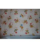 Dundee VINTAGE BABY Bunting Zip Red Teddy Bear Hobo Baby Crib Comforter - $39.57