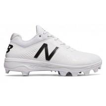 New Balance Mens Low Rubber Baseball Cleats Size 16 US White/Black NIB P... - $59.40