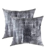 TreeWool, (2 Pack) Throw Pillow Covers Brush Art Accent Decorative Pillo... - $15.99