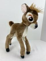 "15"" Vintage Bambi Sears Plush Disney Flexible Legs Made In Korea Deer Baby Fawn - $22.76"