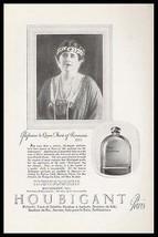 Houbigant Paris Perfumeur to Queen Marie of Roumania 1922 Ad - $12.99