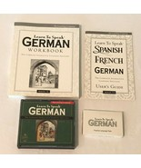 The Learning Company Learn to Speak German 7 3 CDs Set PC Computer Software - $14.99