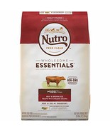 NUTRO WHOLESOME ESSENTIALS Adult Natural Dry Dog Food Beef & Brown Rice ... - $63.72