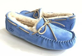 UGG DAKOTA REGATA BLUE SHEARLING LINED SLIPPERS US 11 / EU 42 / UK 9 - NEW - €67,71 EUR