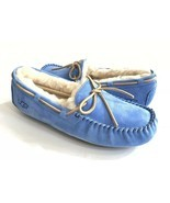 UGG DAKOTA REGATA BLUE SHEARLING LINED SLIPPERS US 11 / EU 42 / UK 9 - NEW - €69,01 EUR