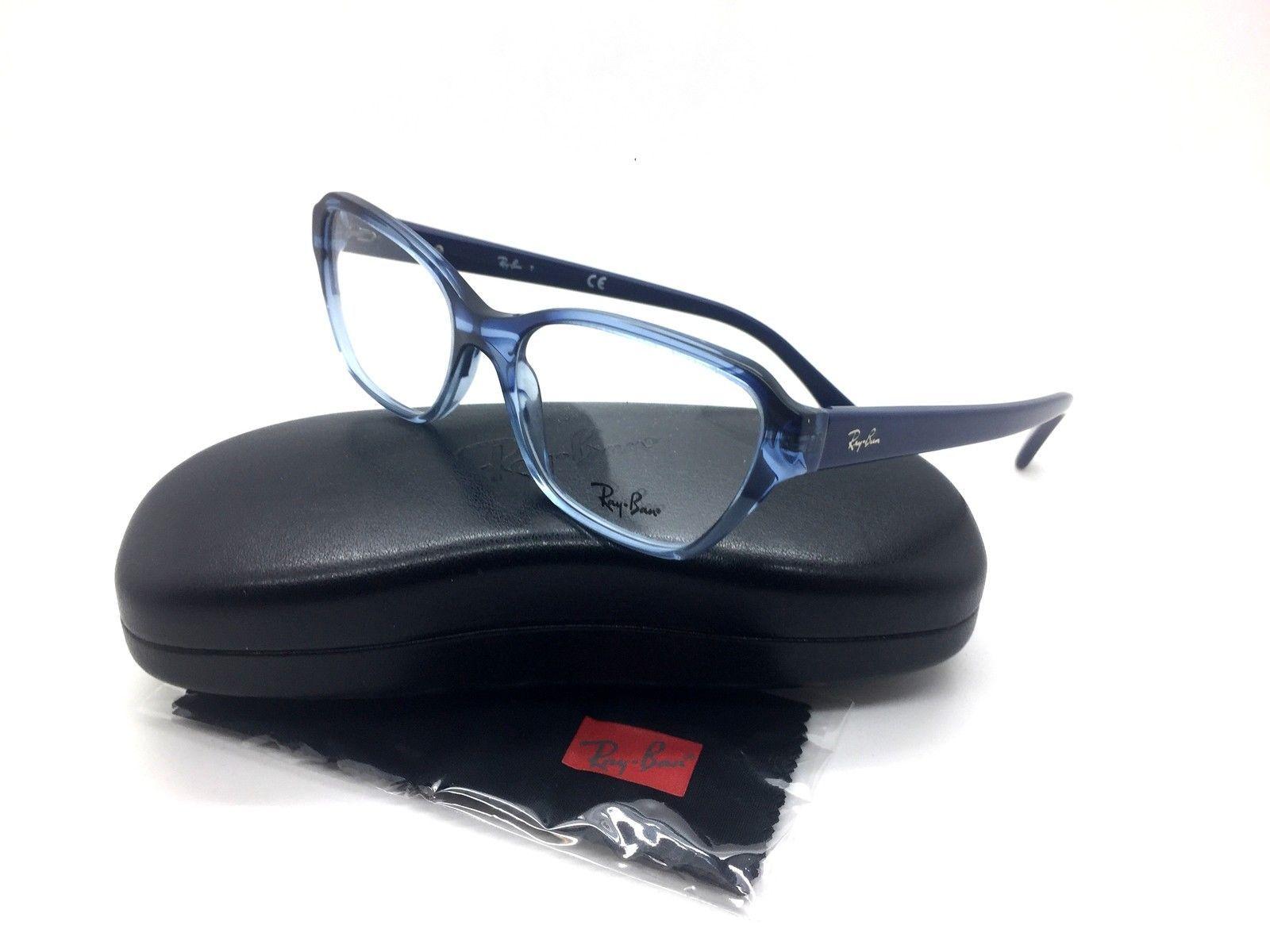 70c6e00df1 Ray Ban Blue Eyeglasses RB 5341 5572 53 mm Demo Lenses Fashion - $66.93