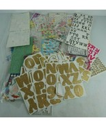 Large Junk Drawer Lot of Stickers Crafting Scrap Book  - $23.34