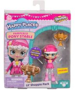 Shopkins Happy Places Jessicake Pampered Pony Stable Lil Shoppie Doll - $10.95