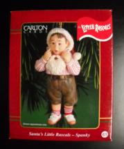 Carlton Cards Heirloom Christmas Ornament 2000 Santa's Little Rascal Spanky Box - $15.99