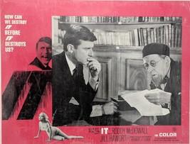 IT 1966 11X14 LOBBY CARD RODDY MCDOWALL Science Fiction Horror Original - $39.60