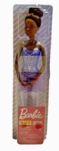 Barbie You Can Be Anything African American Ballerina Doll Tutu Sculpted  - $15.83