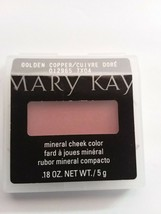 012965-7X04 Mary Kay Mineral Cheek Color - Golden Copper - $5.89