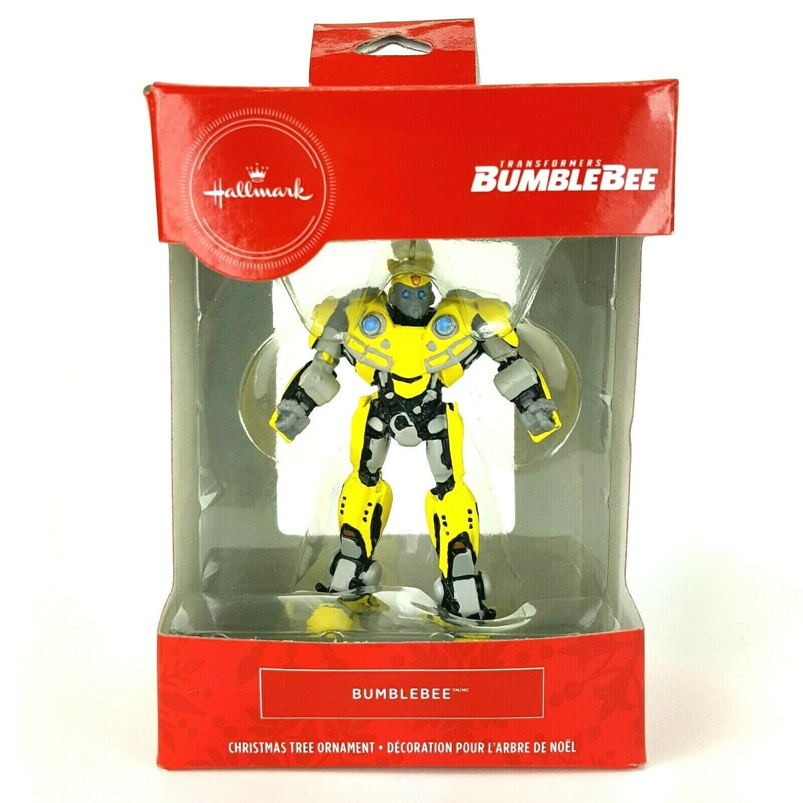 Primary image for 2019 Hallmark Red Box Transformers Bumblebee Christmas Tree Ornament  NEW