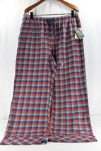 Woolrich Pemberton Lounge Pant XL Women's Sleepwear Red/Green/Purple Plaid NWT - $24.99