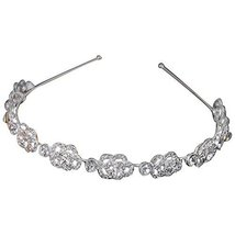 Noble Luxury Hollow Diamond Hair Hoop Headdress Headband
