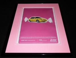 2004 Mitsubishi Lancer Framed 11x14 ORIGINAL Vintage Advertisement - $32.36
