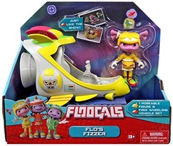 Floogals Just Play Figure with Vehicle Flo Fizzer