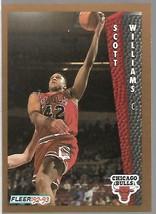 1992-93 FLEER NBA-#37-Scott Williams-Bulls-Center - $3.94