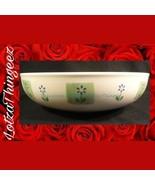 "Pfaltzgraff Cloverhill 10.75"" Pasta Serving Bowl Green Floral - $44.54"