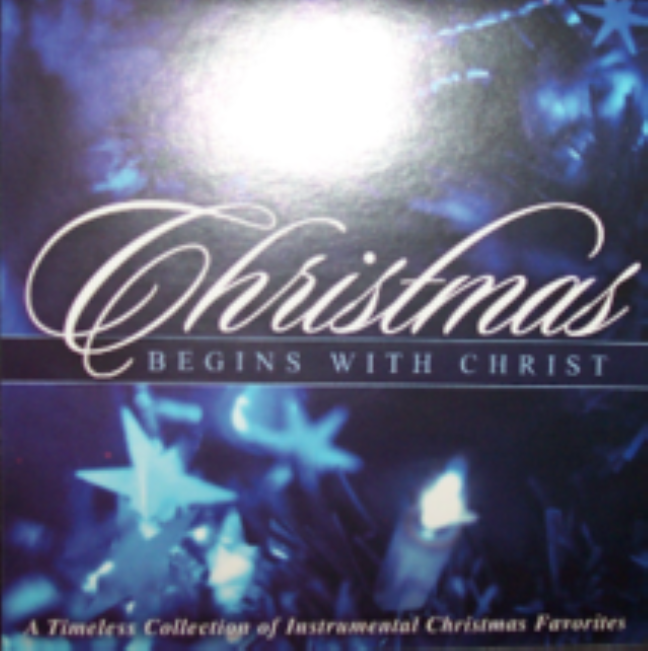 Christmas Begins With Christ Cd
