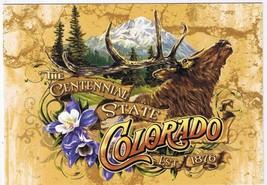 Colorado Postcard Centennial State Southern Rockies - $2.84