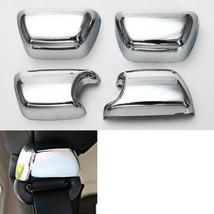 4Pcs ABS Car Seat Safety Belt Buckle Cover Trim Cap Set For Wrangler 200... - $35.70
