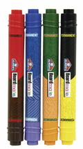 Set of 4 Elmer's Board Mate Dual Colors Thin Thick Tip Permanent Markers NEW image 1