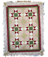 *Customized Handmade Lap/Sofa Size Quilt* Victo... - $140.00