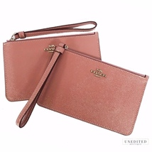 Coach Dusty Rose Patent Leather Wristlet  - $69.00