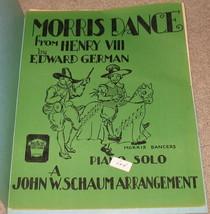 Morris Dance From Henry VIII Sheet Music - 1944    - $8.75