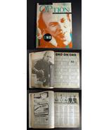 Option mag #E2 1985 Brian ENO cover Electronic Exotica - $14.99