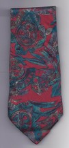 "Mens Geoffery Beene 100% silk Neck Tie 58"" long 3 1/2"" wide #4 Necktie - $9.50"