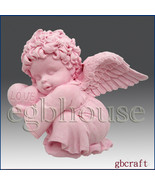 2D Silicone Soap Mold - Valentine Angel Boy - $28.00