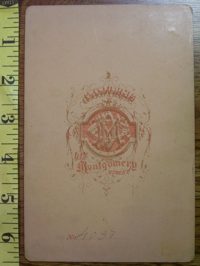 Cabinet Card Older Wealthy Lady Rose Vignette! c.1866-80