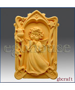 2D Taurus Pray Angel of Compassion Silicone Mold - boy - $32.00
