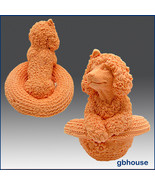 3D Silicone Soap and Candle Mold – Puppy in Straw Hat - $59.99