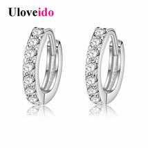 Fashion Brincos Crystal Stud Earrings Women Vintage Jewelry Pendientes Bijoux Cu - $7.99
