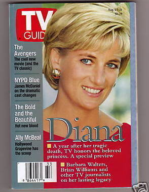 Tv guide  diana   1 year later