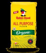 Robin Hood All Purpose Organic Flour 2 x 2.0 kg bags Canada - $79.99