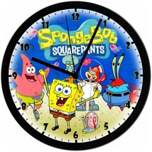 Exclusive! Sponge Bob SquarePants 8in. Unique Homemade Wall Clock w/ Bat... - $23.97