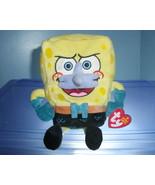Spongebob Mermaidman TY Beanie Baby MWMT - $5.99