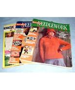 McCall's Needlework & Crafts 3 Magazines 1972 1974 1975 - $9.99