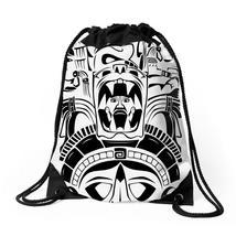 Aztec Design Totem Drawstring Bags - $31.00