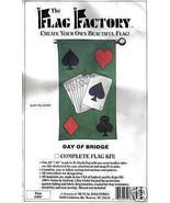 Flag Factory Pattern Day of Bridge Kit cards yard porch fabric DIY art MC1 - $12.77