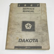 1987 Dodge Dakota Factory Service Manual Good Used Condition - $19.75